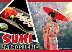Zaproszenie na sushi