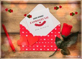 Zaproszenie pełne miłości