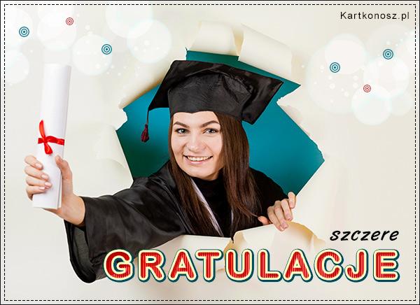 Szczere Gratulacje!
