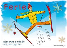 Ferie - Zimowa radość!