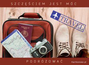 Szczęściem jest móc podróżować!