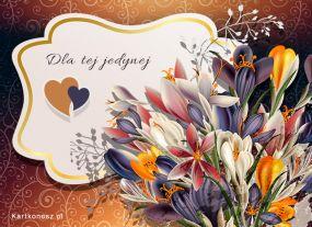 eKartki Kwiaty Dla tej jedynej ...,