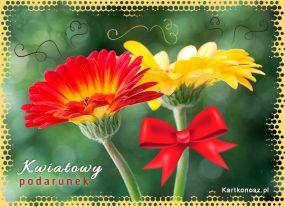 Kwiatowy podarunek