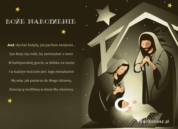 Syn Boży się rodzi