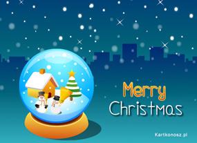 eKartki Boże Narodzenie Bożonarodzeniowa kula,