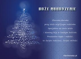 eKartki Boże Narodzenie Choinka, choinka,