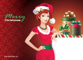 eKartki Boże Narodzenie Gotowa na Boże Narodzenie,