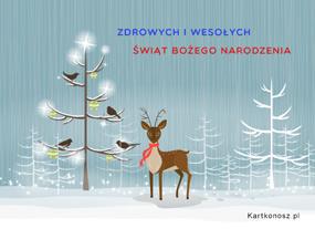 eKartki Boże Narodzenie Jelonek,