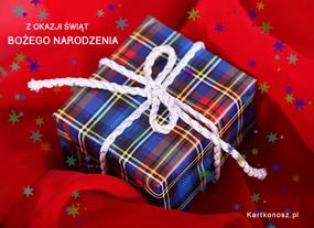 eKartki Boże Narodzenie Kartka z prezencikiem,