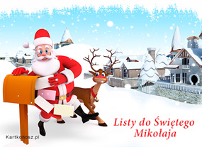 eKartki Boże Narodzenie Listy do Świętego Mikołaja,