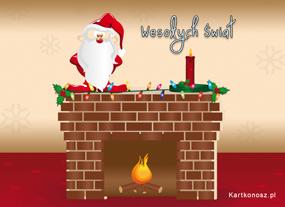 eKartki Boże Narodzenie Mikołaj w gotowości,