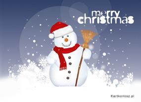 eKartki Boże Narodzenie Na śniegu,