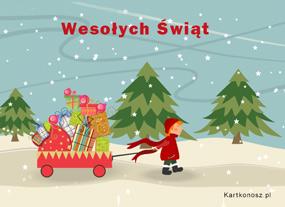eKartki Boże Narodzenie Na święta,