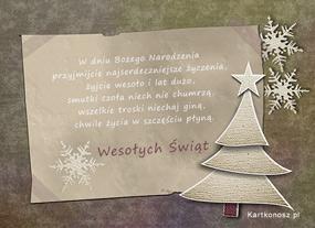 eKartki Boże Narodzenie Najserdeczniejsze życzenia,