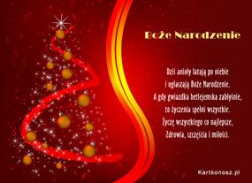 e Kartki   Ogłaszamy Boże Narodzenie,