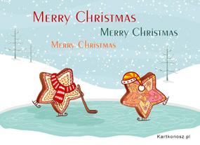 eKartki Boże Narodzenie Pierniczki na zimowo,