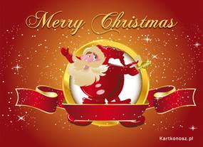 eKartki Boże Narodzenie Pozdrowienia od Mikołaja,