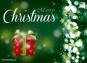 eKartki Boże Narodzenie Prezent pod choinką,