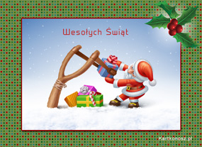 eKartki Boże Narodzenie Prezent świąteczny,