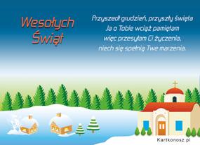 eKartki Boże Narodzenie Przyszły święta,