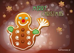 eKartki Boże Narodzenie Smaczny bałwanek,