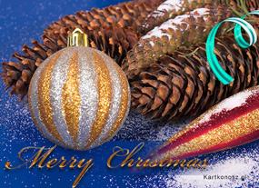 eKartki Boże Narodzenie Świąteczny stroik,
