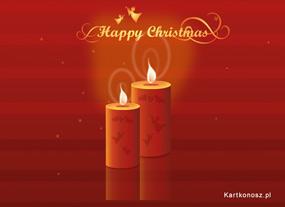 eKartki Boże Narodzenie Świece świąteczne,
