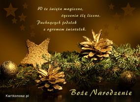 eKartki Boże Narodzenie Święta magiczne,