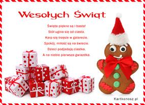 eKartki Boże Narodzenie Święta są piękne,
