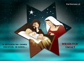 eKartki Boże Narodzenie Zbawiciel się rodzi,