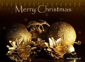 eKartki Boże Narodzenie Złote Boże Narodzenie,