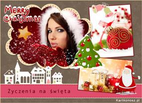 e Kartki  z tagiem: e-Kartki Mikołaj Życzenia na święta,