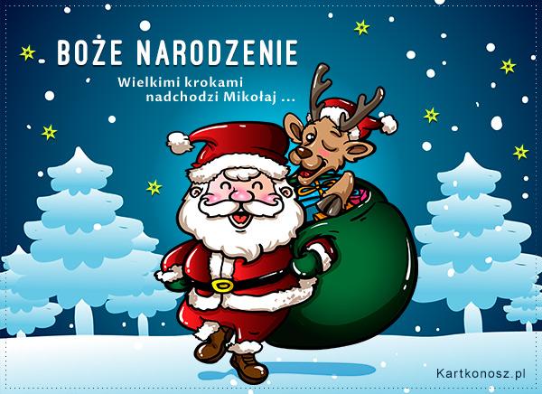 Nadchodzi Mikołaj