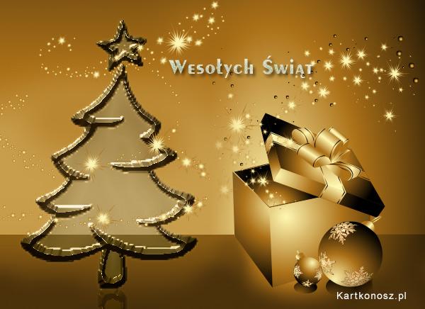 Boże Narodzenie w barwach złota