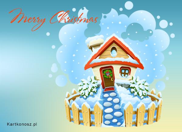 Bożonarodzeniowy domek