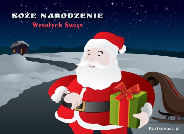 Mikołaj Cię odwiedza