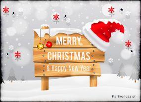 e Kartki  z tagiem: Kartki bożonarodzeniowe Śnieżnobiałe święta!,