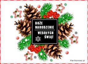 e Kartki  z tagiem: e-Kartka bożonarodzeniowa Stroik na Boże Narodzenie,