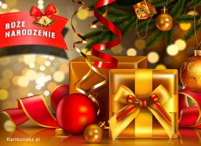 eKartki Boże Narodzenie Świąteczne prezenty,