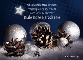 eKartki Boże Narodzenie Białe Boże Narodzenie,