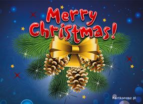 eKartki Boże Narodzenie Bożonarodzeniowe szyszki,