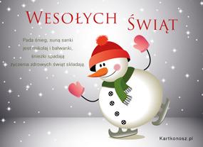 eKartki Boże Narodzenie Harce w Boże Narodzenie,
