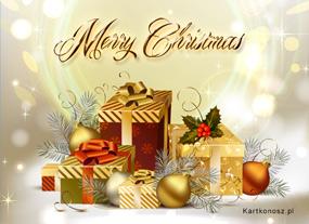 eKartki Boże Narodzenie Magia prezentów świątecznych,