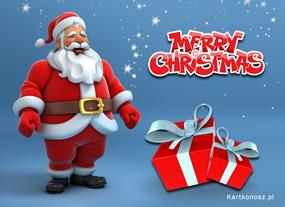 eKartki Boże Narodzenie Mikołaj i prezenty,