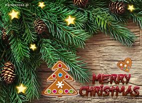 eKartki Boże Narodzenie Pod świąteczną choinką,