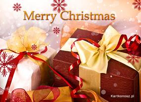 eKartki Boże Narodzenie Prezenty pod choinkę,