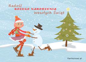 eKartki Boże Narodzenie Radość Bożego Narodzenia,