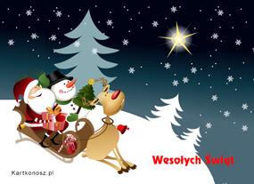 eKartki Boże Narodzenie Świąteczna zabawa,