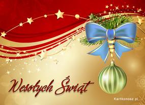eKartki Boże Narodzenie Świąteczne ukłony,