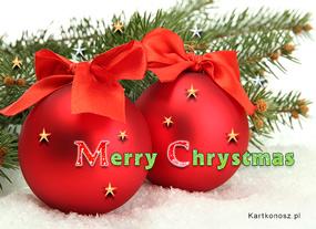 eKartki Boże Narodzenie Urocze banieczki,